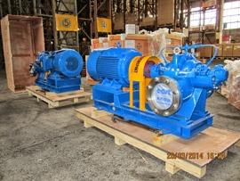 Поставка насосных агрегатов DFSS